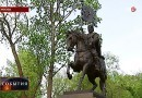 Святейший Патриарх Кирилл освятил памятник князю Димитрию Донскому