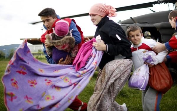 В подворье Русской Церкви в Белграде объявлен сбор помощи пострадавшим от наводнения
