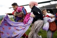 Представители Церкви передали около 2 тонн гуманитарного груза сербам
