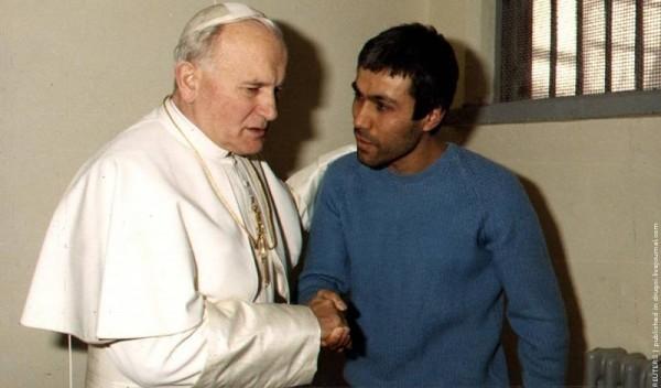 Посещение папой человека, который пытался его убить