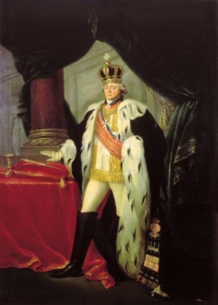 Сальватор Тончи. Портрет императора Павла I