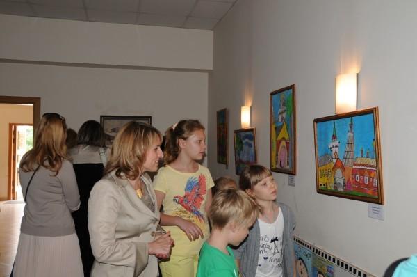 Рисунок московского ребенка из 1941 года можно увидеть на выставке в Риме