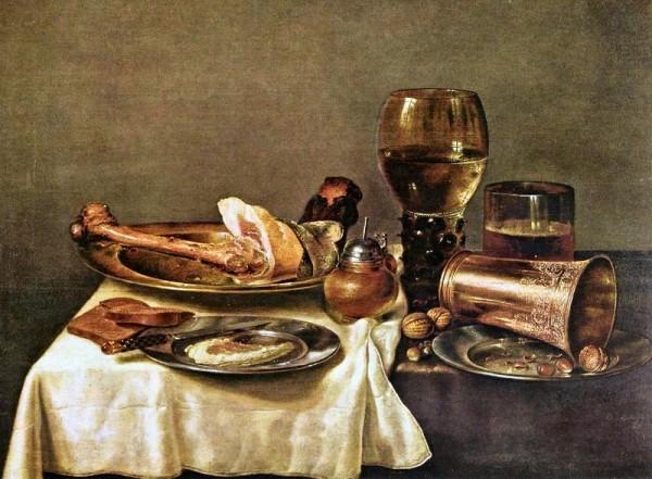 В. К. Хеда. Натюрморт 1635 г.