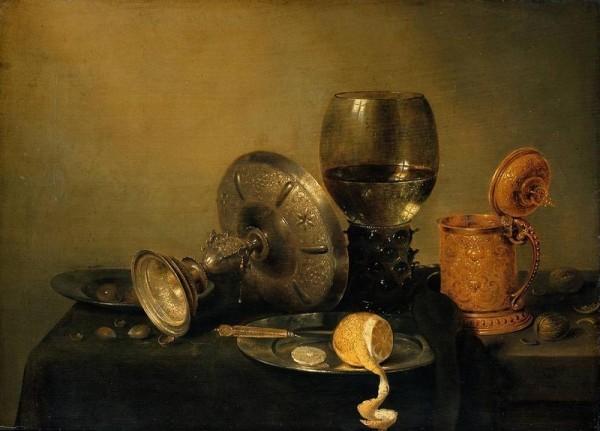 В. К. Хеда. Натюрморт с лимоном