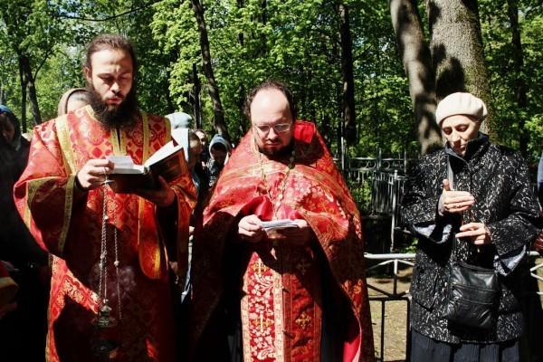В Москве молитвенно почтили память протоиерея Валентина Амфитеатрова
