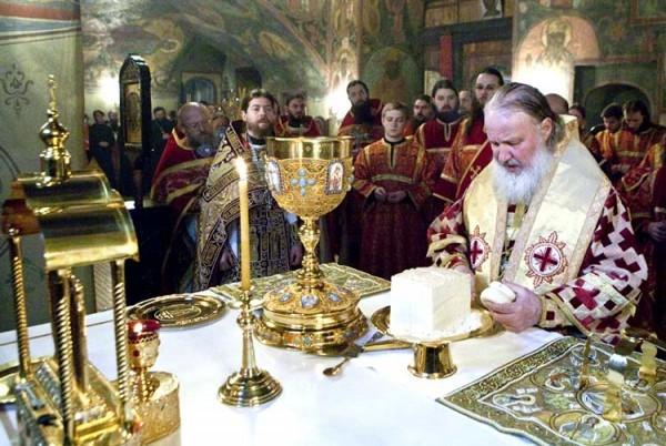 Смысл символа в православной литургии
