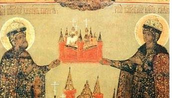 Церковь воспоминает перенесение мощей святых страстотерпцев благоверных князей Бориса и Глеба