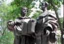 В Твери торжественно открыли памятник братьям Кириллу и Мефодию