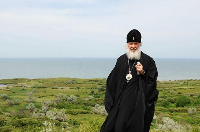 Крест Патриарха Кирилла