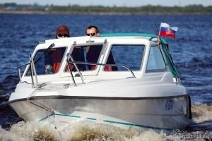 В Архангельской епархии впервые прошло «молитвенное плавание»