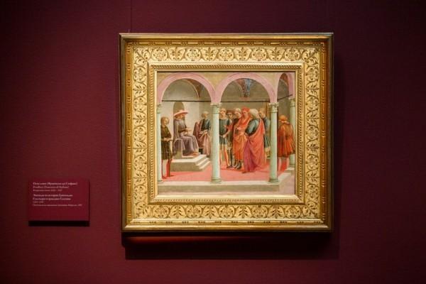 Франческо ди Стефано, прозванный Пезеллино. Гуальтьери и граждане Салуццо. 1445-1450. Дерево, темпера