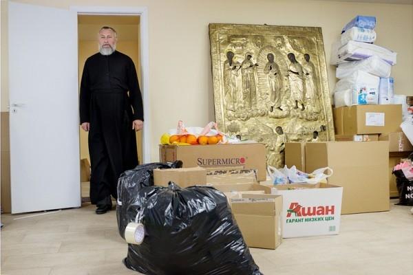 Более миллиона рублей собрали жителям юго-востока Украины в Новоспасском ставропигиальном мужском монастыре