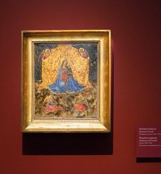 Беноццо ди Лезе ди Сандро, прозванный Беноццо Гоццоли. Мадонна Смирение. Около 1449-1450, дерево, темпера