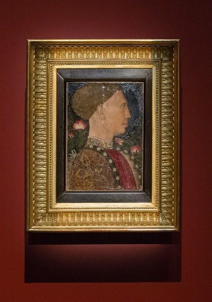 Антонио Пизано, прозванный Пизанелло. портрет Лионелло д'Эсте, 1441, дерево, темпера