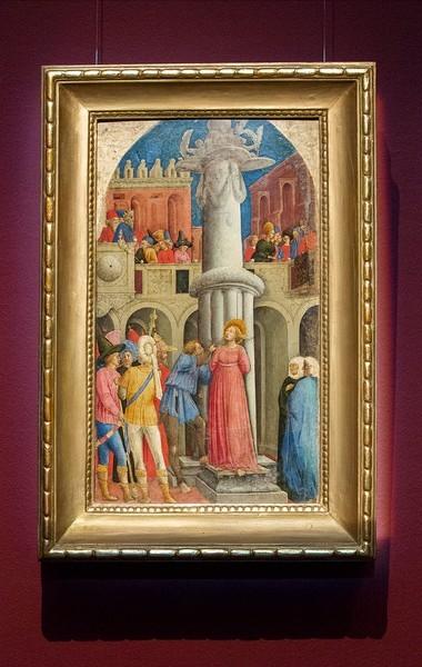 Джованни д'Алеманья. Мученичество святой Аполлонии (Ослепление), около 1440-1445, дерево, темпера