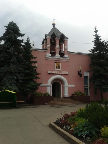 Храм святых Серафима Саровского и Анны Кашинской Современный вид