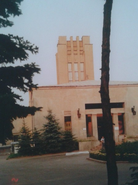 Здание крематория (начало 1990-х годов)