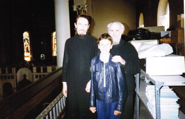 Протоиерей Александр Шаргунов, Сергей Шаргунов, митрополит Антоний. Фото Марианны Гринан