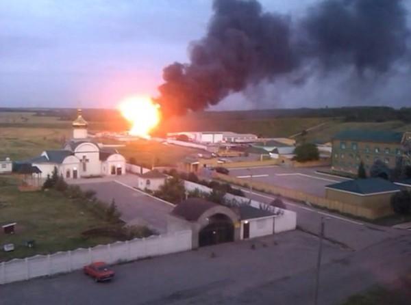 У храма Андрея Первозванного в Луганске обострилась перестрелка