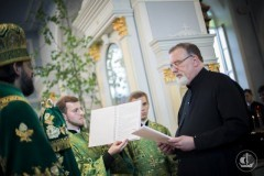 Католический священник Константин Симон принял православие