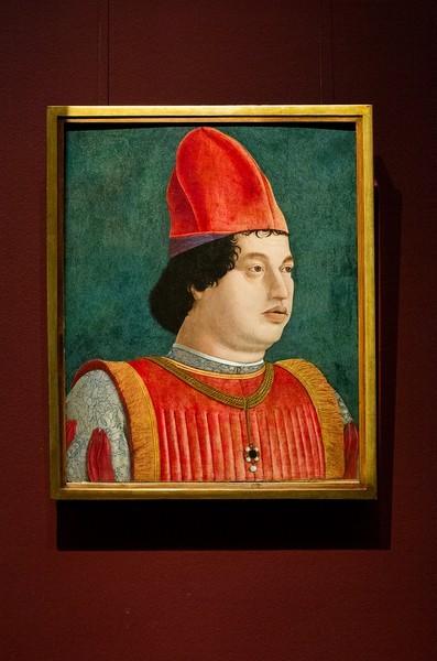 Франческо Бонсиньори. Портрет Джан Франческо Гонзага, около 1475, дерево, темпера