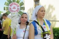 Акция «Белый цветок» в Санкт-Петербурге собрала 2 млн. рублей для детского хосписа