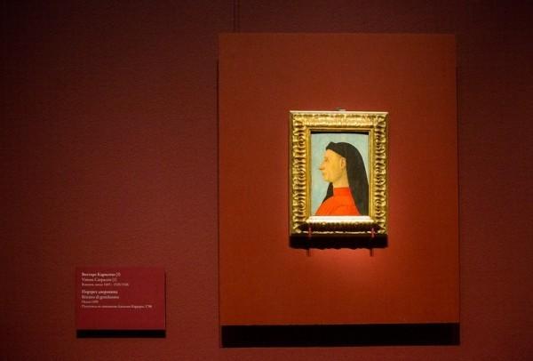 Витторе Карпаччо. Портрет дворянина, 1495, дерево, темпера