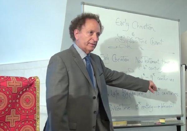 Профессор Димитрий Кономос: Как появились первые христианские песнопения