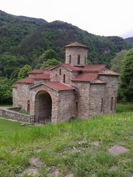 Нижне-Архызское городище. Северный (Георгиевский) храм