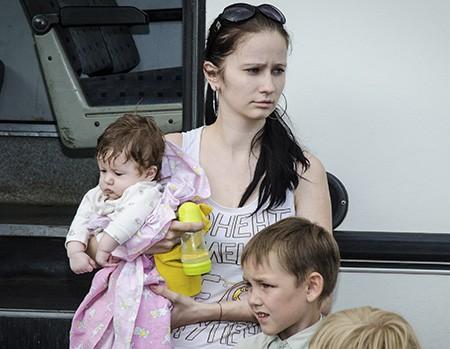Храм в Днепропетровской области организовал Центр для беженцев с детьми