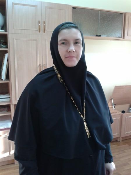 Настоятельница Свято-Георгиевского женского монастыря монахиня Варвара (Шурыгина)