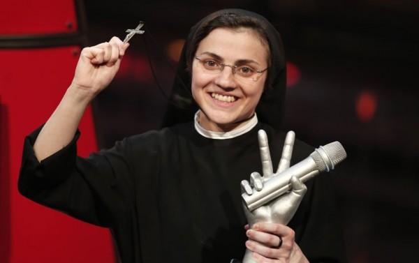 """Сестра Кристина: """"Отче наш"""" в прямом эфире """"Голоса"""""""