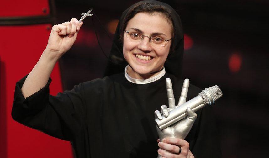 Сестра Кристина: «Отче наш» в прямом эфире «Голоса»