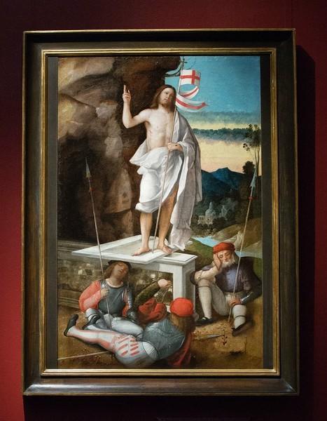 Джованни Бонконсильо, прозванный Марескалько. Воскресение Христа, около 1525-1530, холст, масло