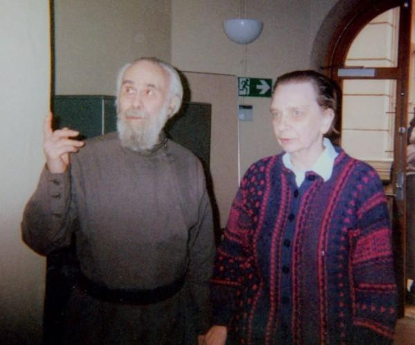 Митрополит Антоний и Татьяна Майданович
