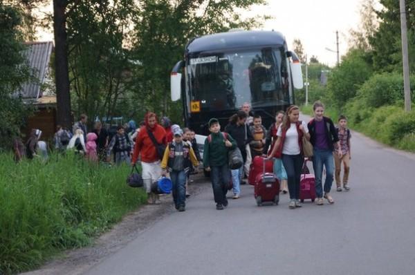 Беженцы на подворье Валаамского монастыря в Приозерске нуждаются в помощи