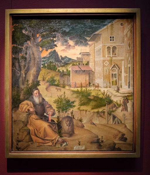 Бартоломео Монтанья. Святой Иероним, 1515, холст, темпера, масло