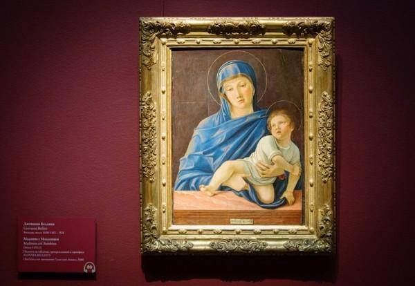 Джованни Беллини. Мадонна с Младенцем, около 1476, дерево, темпера