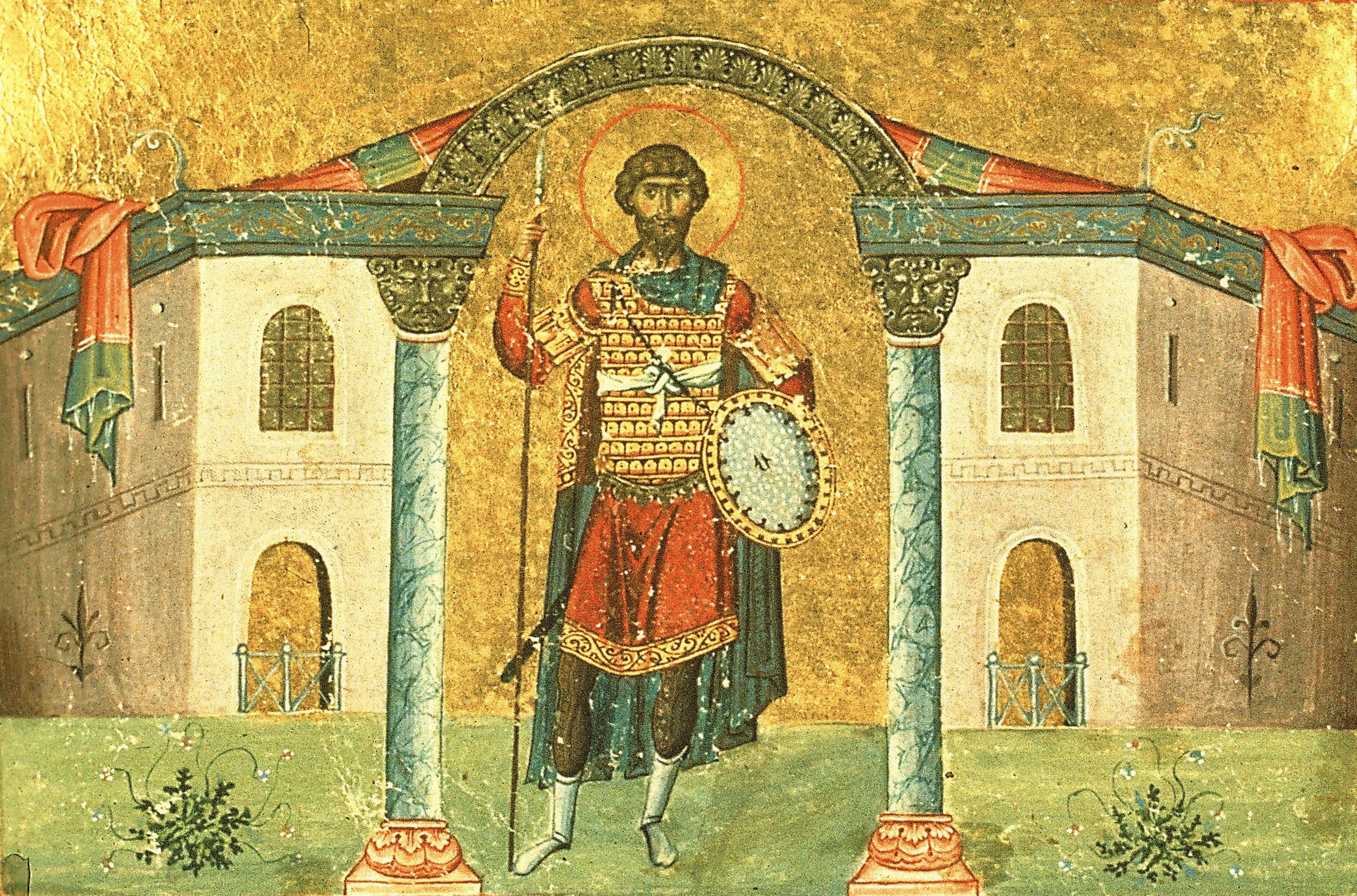 Великомученик Феодор Стратилат: икона 2