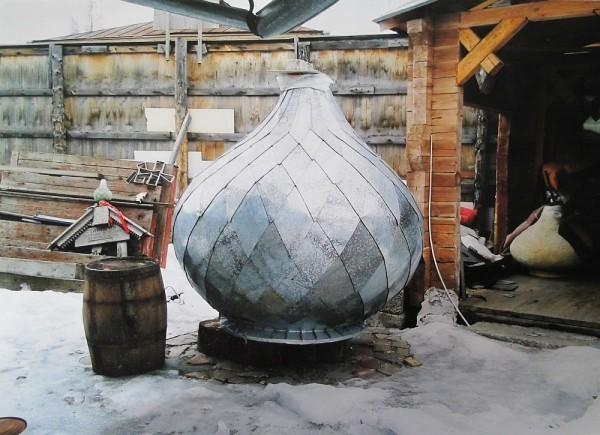 Подготовленный для храма купол