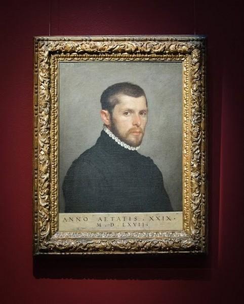 Джованни Баттиста Морони. Портрет молодого человека в возрасте 29 лет, 1567, холст, масло