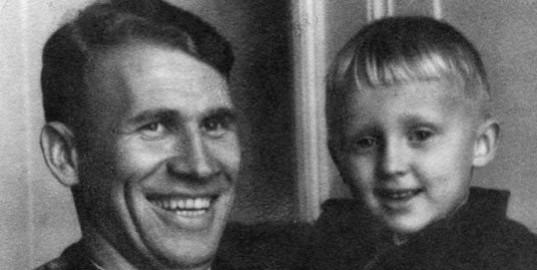 Григорий Федотов с сыном Владимиром