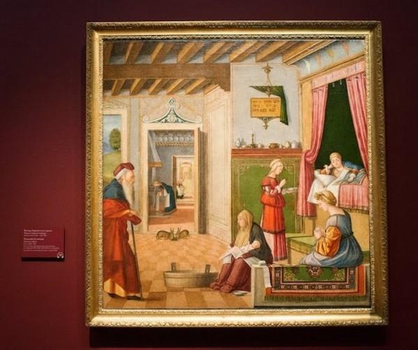 Витторе Карпаччо и мастерская. Рождество Богоматери, около 1502-1504, холст, масло