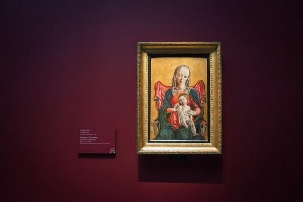 Козимо Тура. Мадонна с Младенцем, около 1475-1480, дерево, темпера
