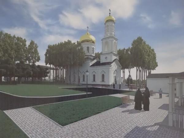 Здесь будет монастырь!