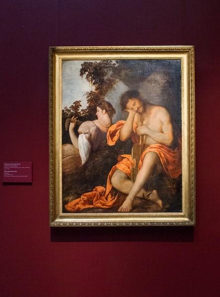 Джованни Бузи, прозванный Карьяни. Музицирующая пара. Около 1520-1522, холст, масло