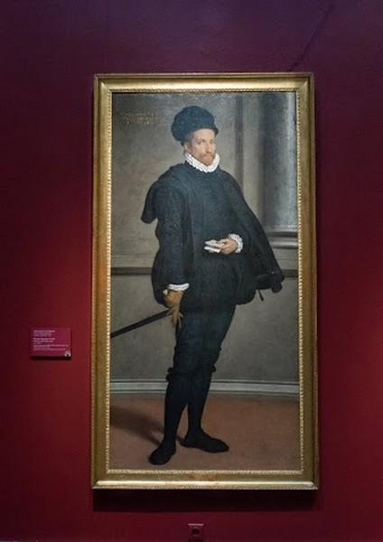 Джован Баттиста Морони. Портрет Бернардо Спини, 1573-1574, холст, масло