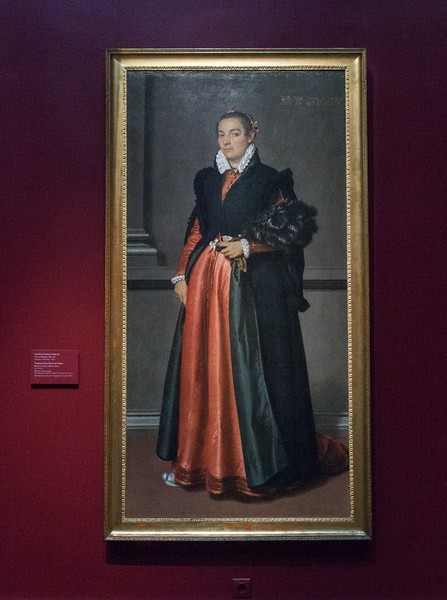 Джован Баттиста Морони. Портрет Паче Риволо Спини, 1573-1574, холст, масло