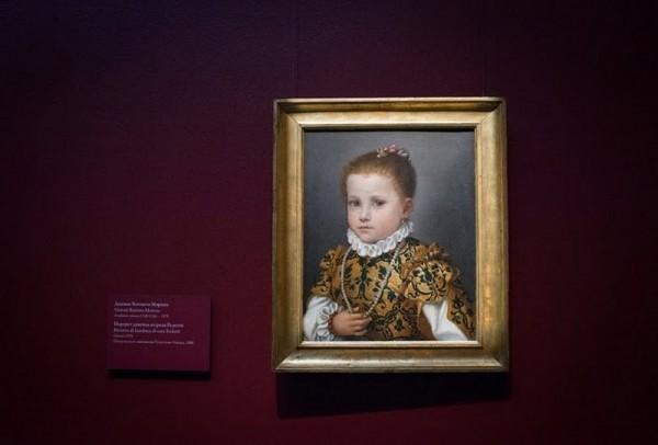 Джован Баттиста Морони. Портрет девочки из семейства Редетти, около 1570, холст, масло