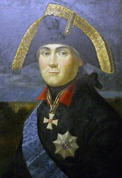 Граф Михаил Федотович Каменский